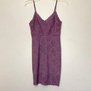 Kimchi Blue Violet Lace Dress